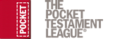 The Pocket Testament League logo